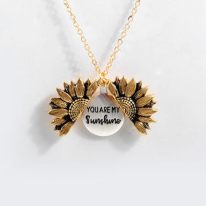 Bohemian Sunflower Necklace